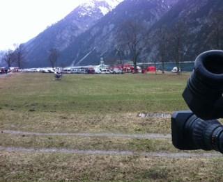 Foto9 - ORF live-einstieg vom Unglücksort
