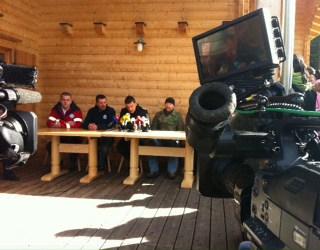 Foto - ORF live-einstieg vom Unglücksort