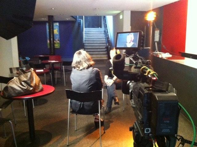Foto1 - Dreharbeiten in Wien