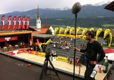 Foto3 400x284 - ORF Beatchvolleyball - live vom dach ;)