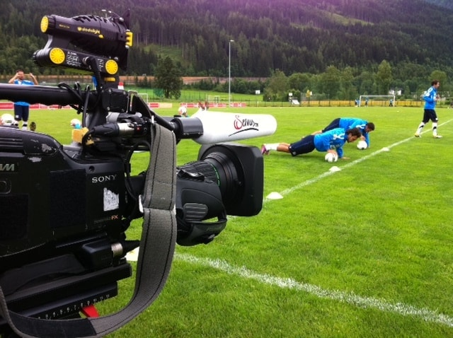 Foto12 - Sport und Talk live Sendung