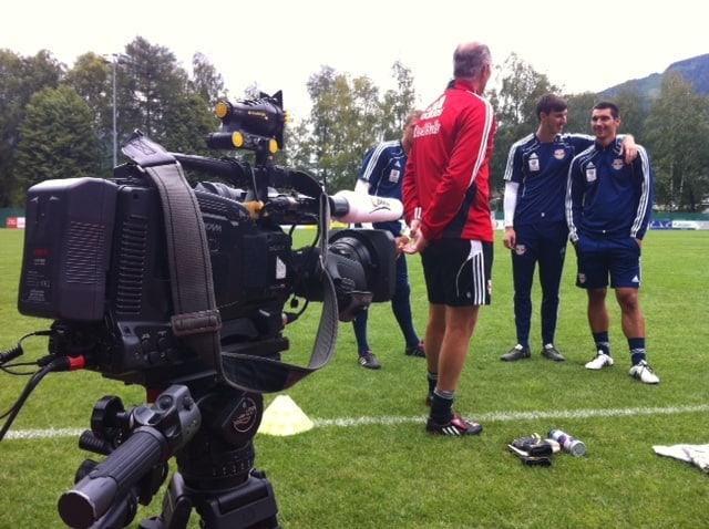Foto13 - ServusTv (redbullmedia) Bundesliga Fussballtraining