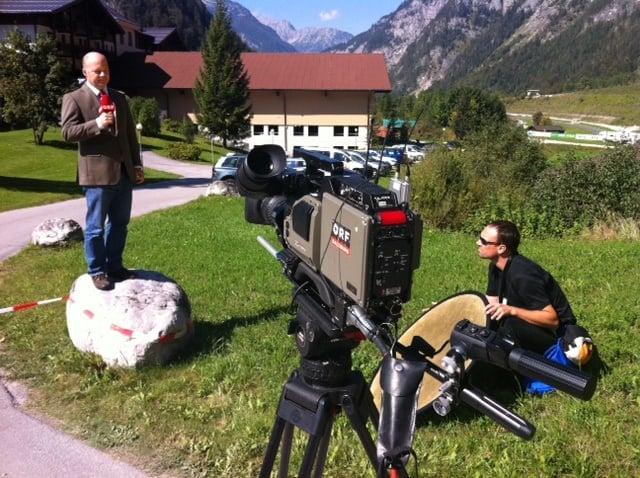 Foto6 - ORF Liveeinstieg vom Hahnenkammrennen