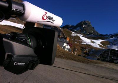 ServusTv – In einer Woche ist Saisonseröffnung in Ischgl in Tirol. Lokalaugenschein auf der Idalp auf 2 320m