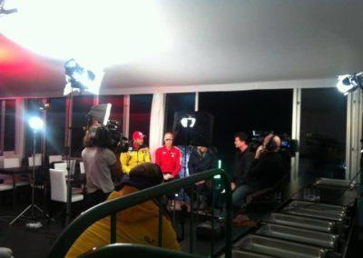 Sport und Talk live Sendung