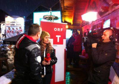 ORF Liveeinstieg vom Hahnenkammrennen