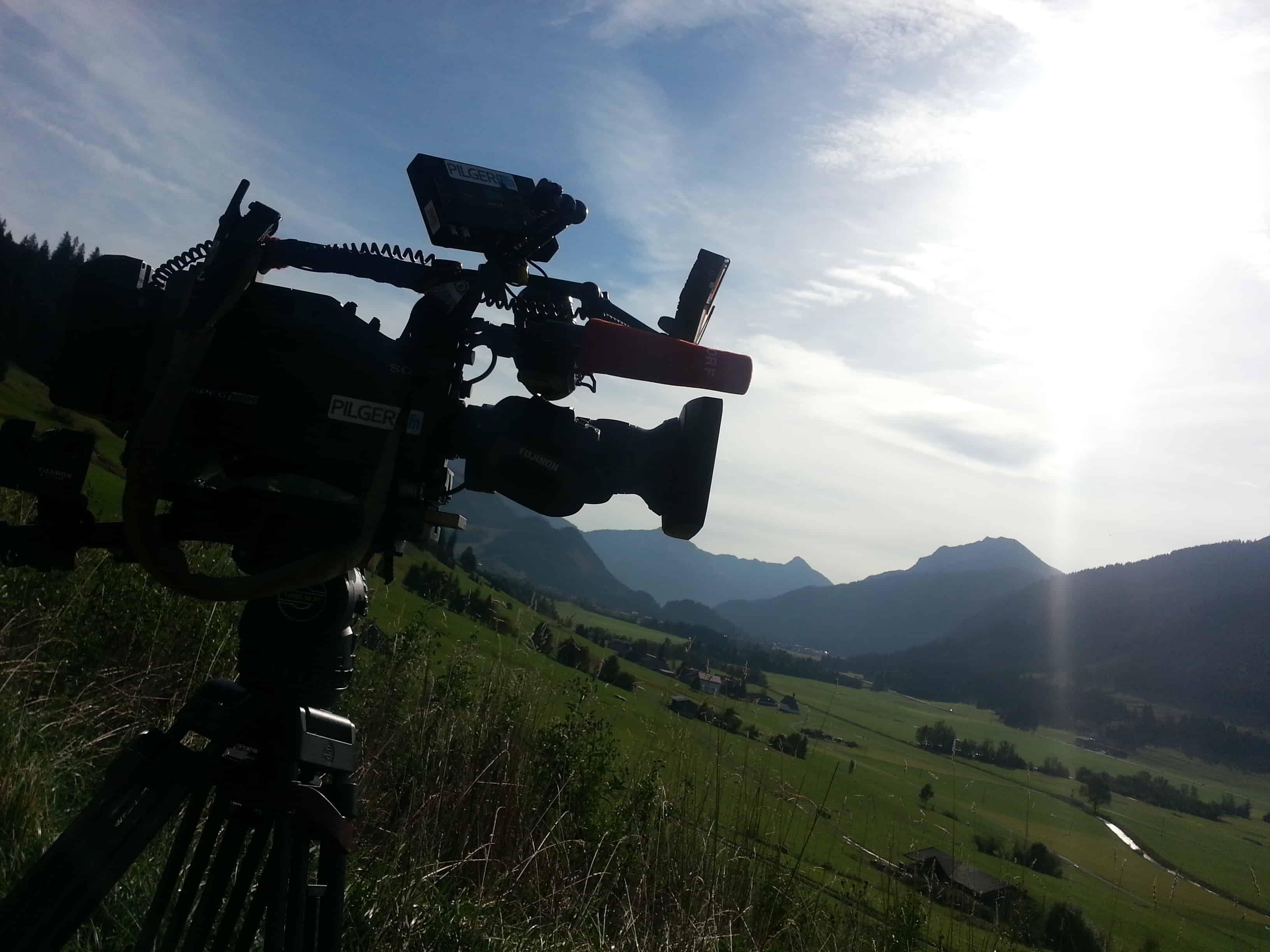 ORF Dreharbeiten Berg