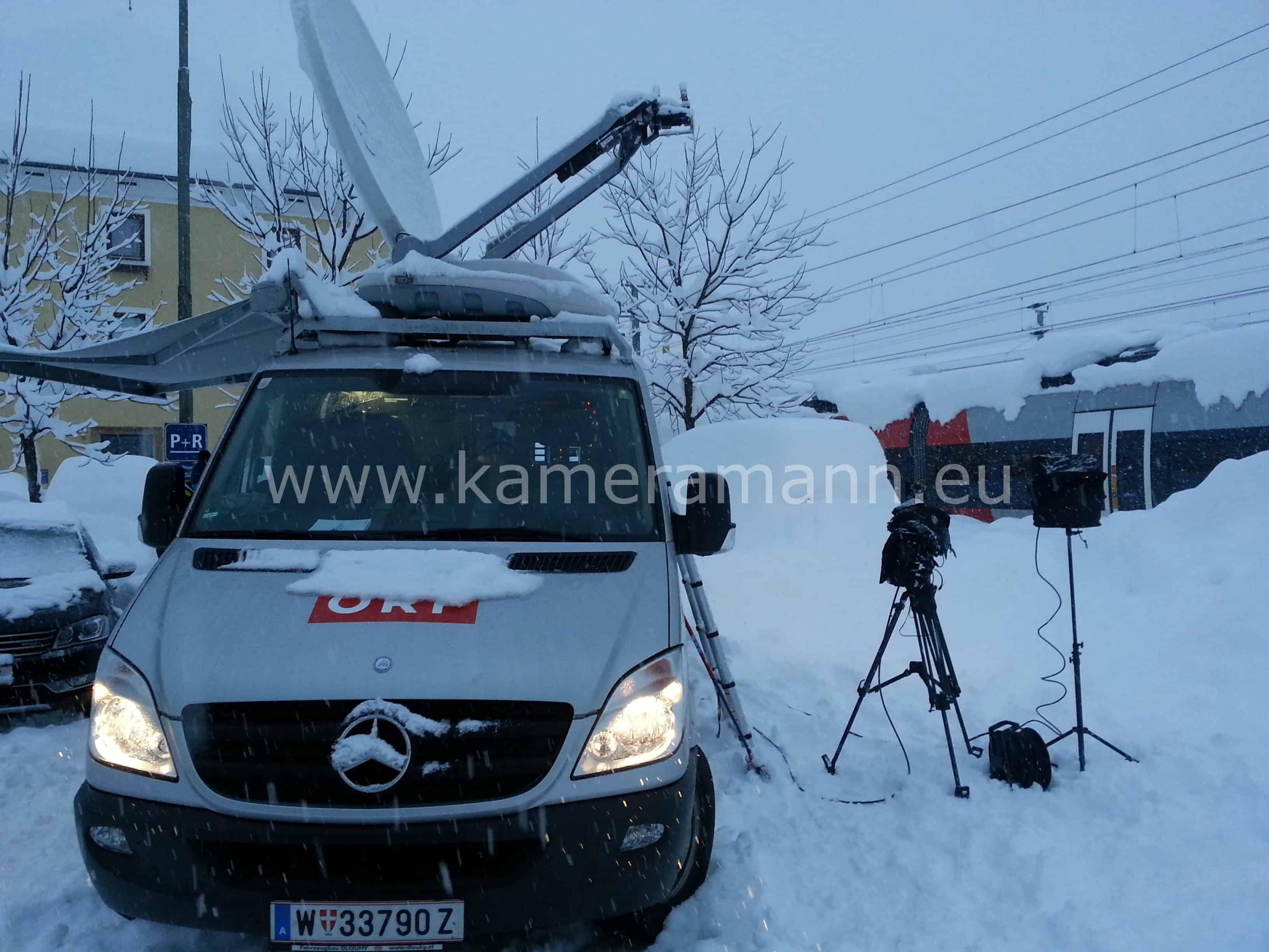 ORF kurz vor Live