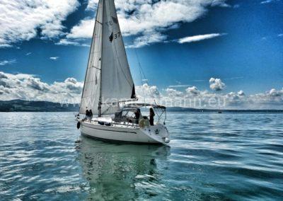 20140814 140257 1 400x284 - 4 in einem Boot