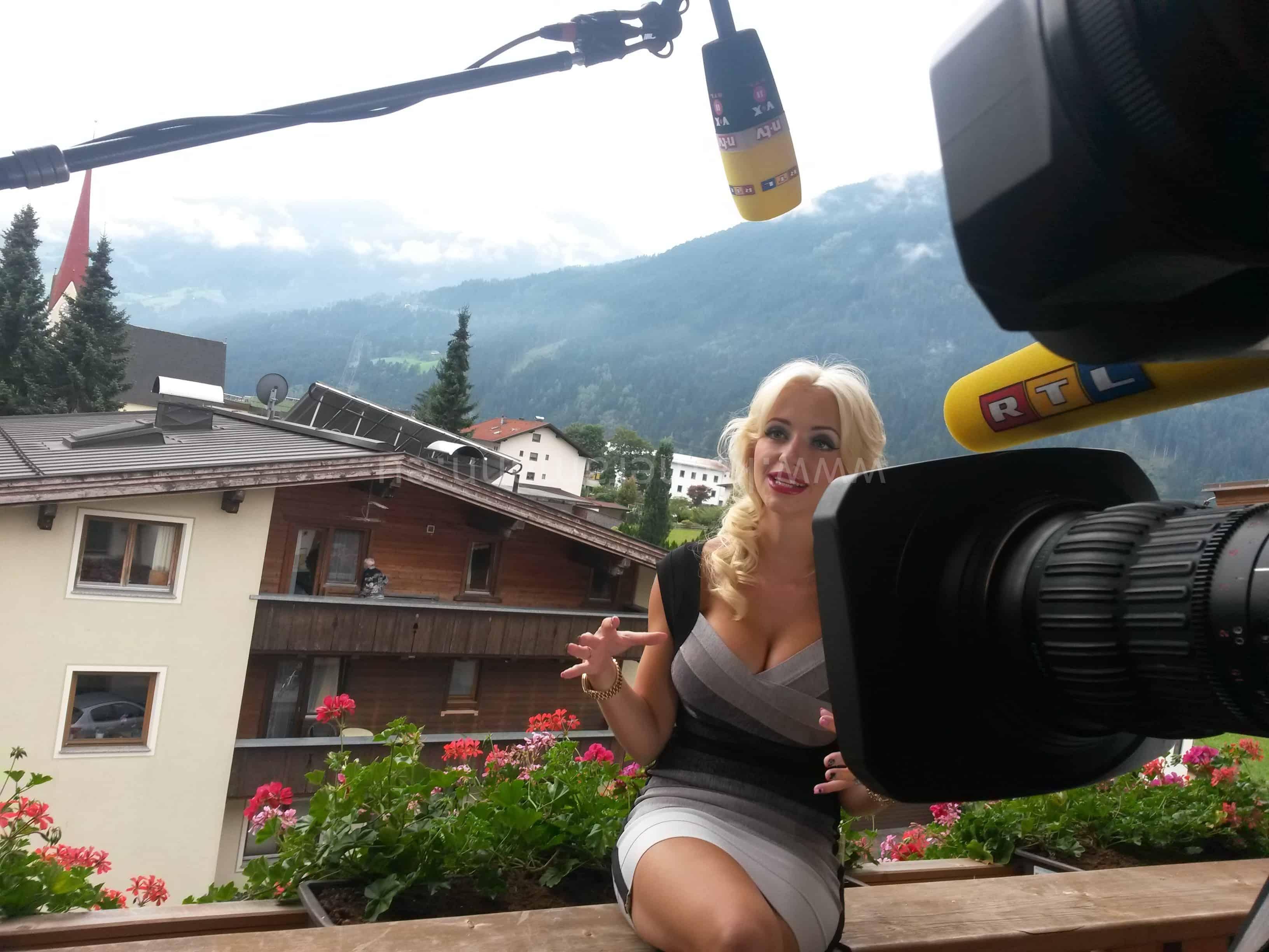 rtl lugner e1442781308558 - RTL -  Dreharbeiten mit Cathy und Richard Lugner