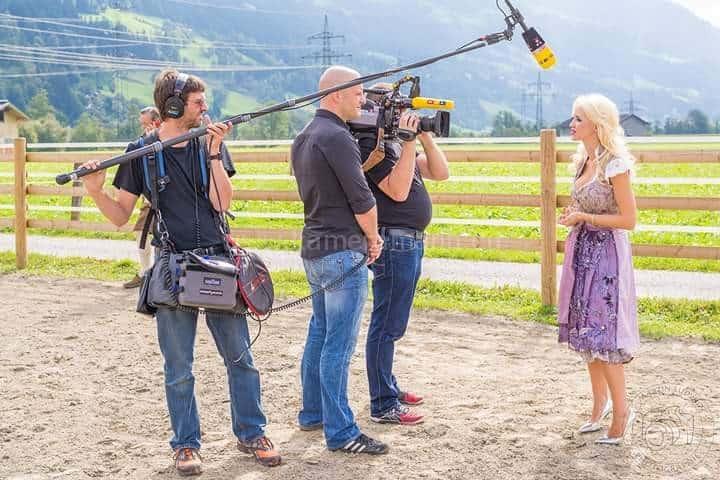 rtl lugner und andreas felder 2 - RTL -  Dreharbeiten mit Cathy und Richard Lugner