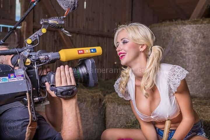 rtl lugner und andreas felder - RTL -  Dreharbeiten mit Cathy und Richard Lugner
