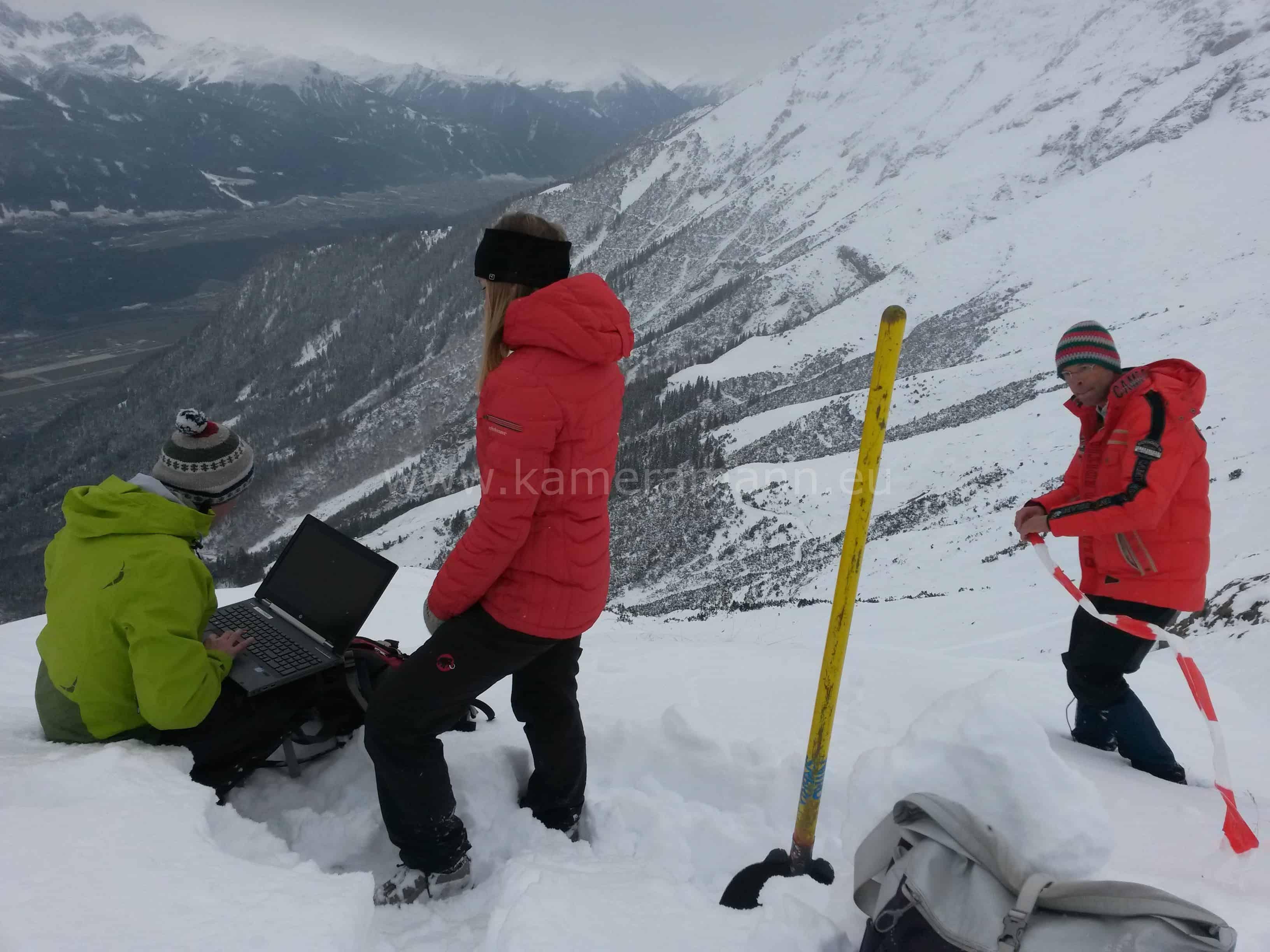 orf nano3 - Drehtag in Tirol