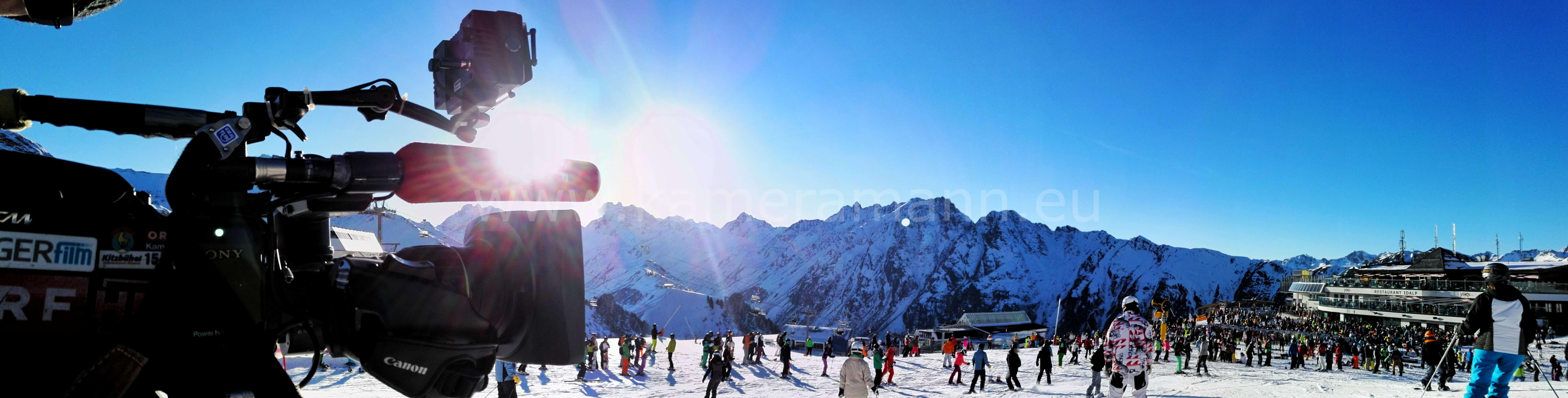 ischgl3 - ServusTv - In einer Woche ist Saisonseröffnung in Ischgl in Tirol. Lokalaugenschein auf der Idalp auf 2 320m