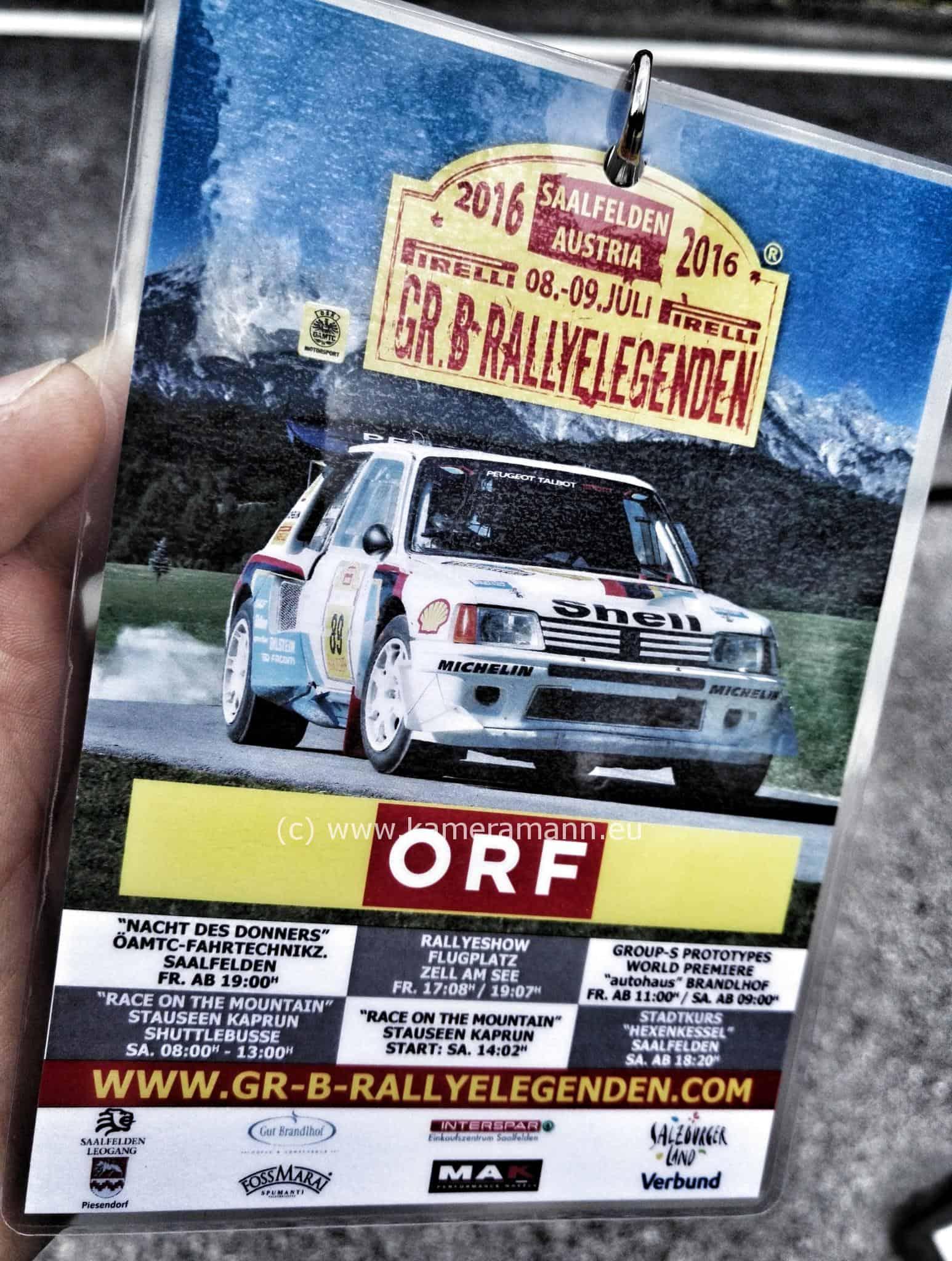 gruppe b rallyelegenden saalfelden 12 - Rallyelegenden Saalfelden