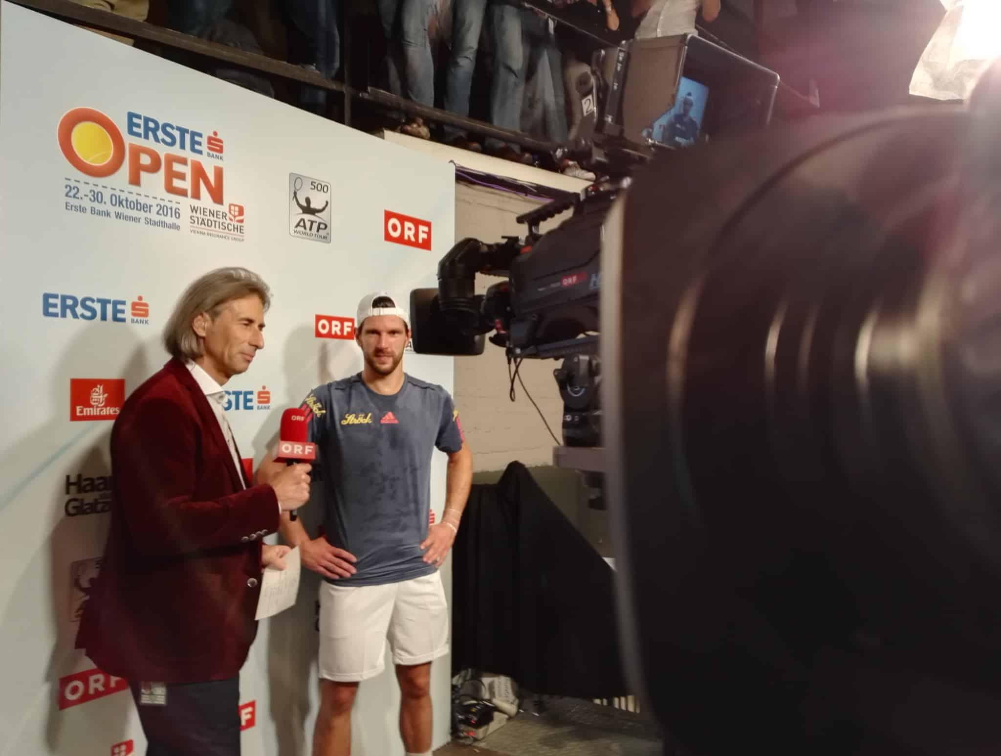 ATP Tennis Erste Open ORF Sport Plus Wiener Stadthalle 4 - ORF Sport - ATP Tennis Erste Bank Open 2016