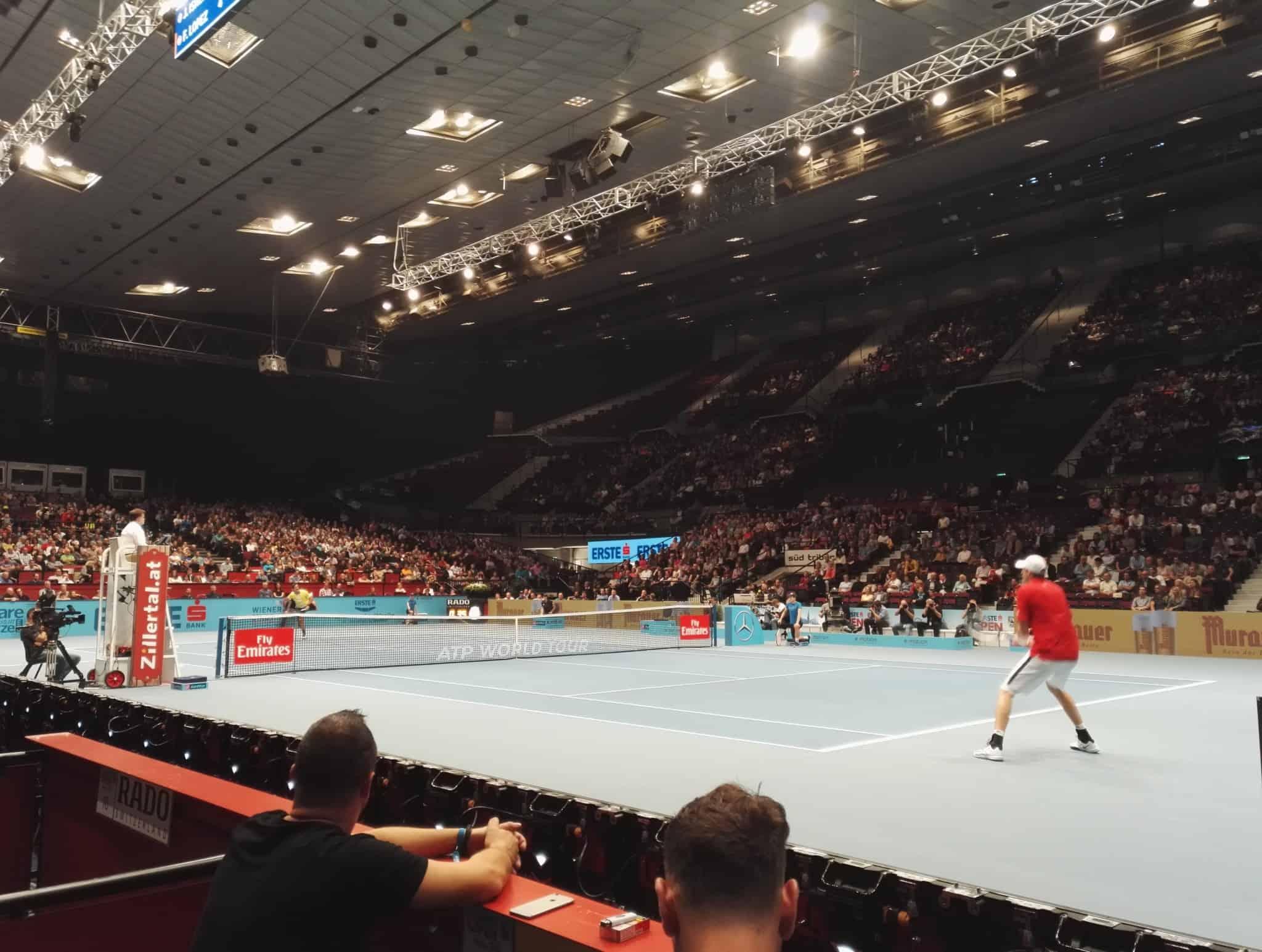 ATP Tennis Erste Open ORF Sport Plus Wiener Stadthalle 5 - ORF Sport - ATP Tennis Erste Bank Open 2016
