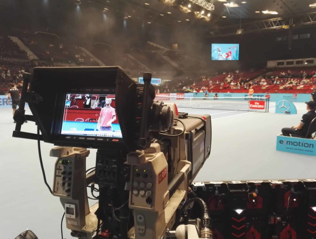 ATP Tennis Erste Open ORF Sport Plus Wiener Stadthalle 6 1060x800 - Steadycam Dreharbeiten