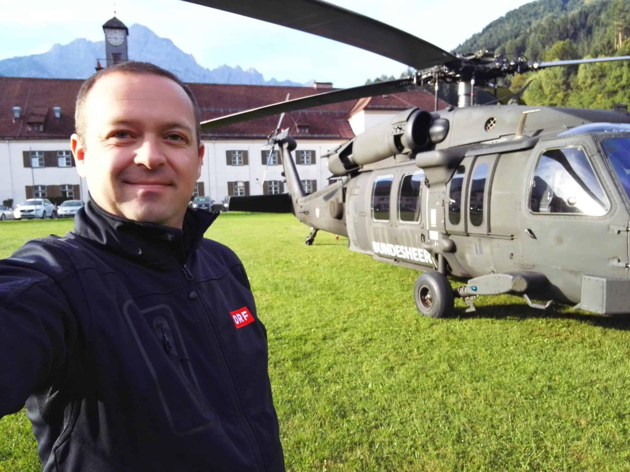 orf black hawk bundesheer lienz 1 - ORF - Black Hawk Bundesheer