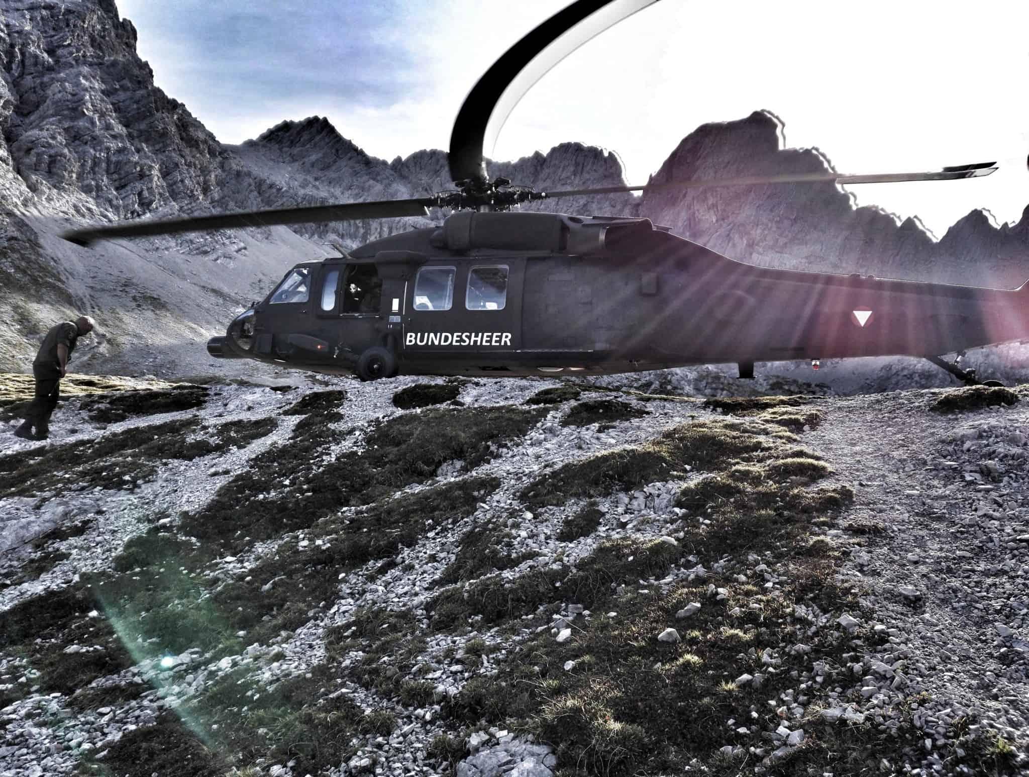 orf black hawk bundesheer lienz 4 - ORF - Black Hawk Bundesheer