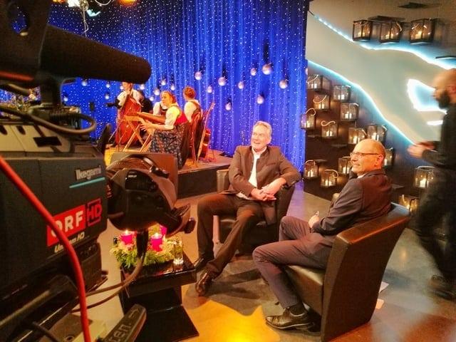Andreas Felder Dreharbeiten 02 1 2 - ORF Licht ins Dunkel