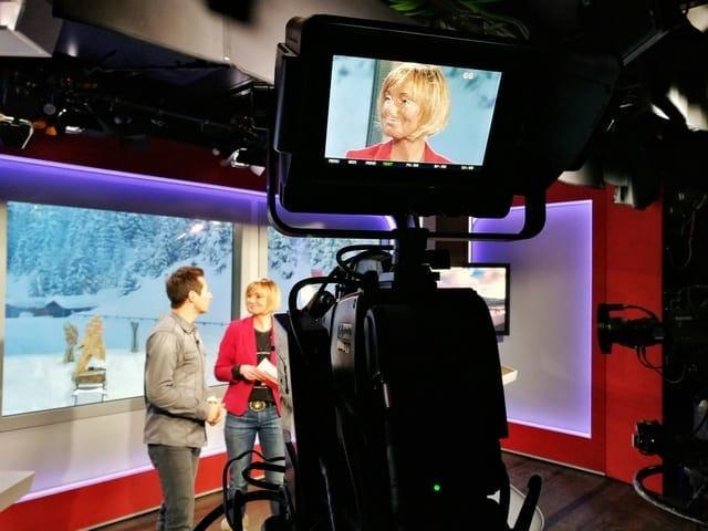 Andreas Felder Dreharbeiten 02 14 2 - ORF - Guten Morgen Österreich - Kitzbühel