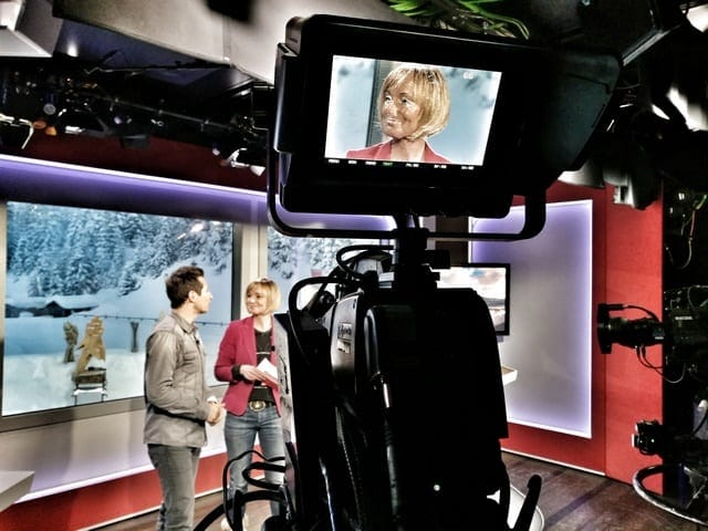 Andreas Felder Dreharbeiten 02 15 2 - ORF - Guten Morgen Österreich - Kitzbühel