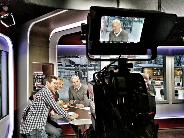 Andreas Felder Dreharbeiten 02 18 2 - ORF - Guten Morgen Österreich - Kitzbühel