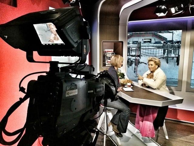 Andreas Felder Dreharbeiten 02 19 2 - ORF - Guten Morgen Österreich - Kitzbühel