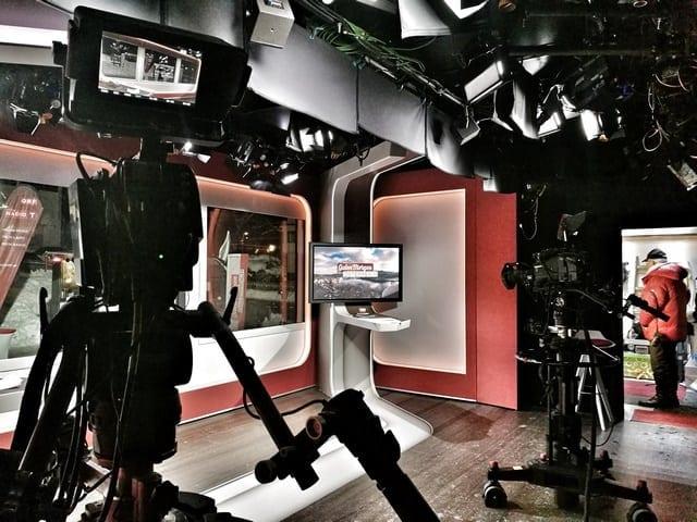 Andreas Felder Dreharbeiten 02 20 2 - ORF - Guten Morgen Österreich - Kitzbühel