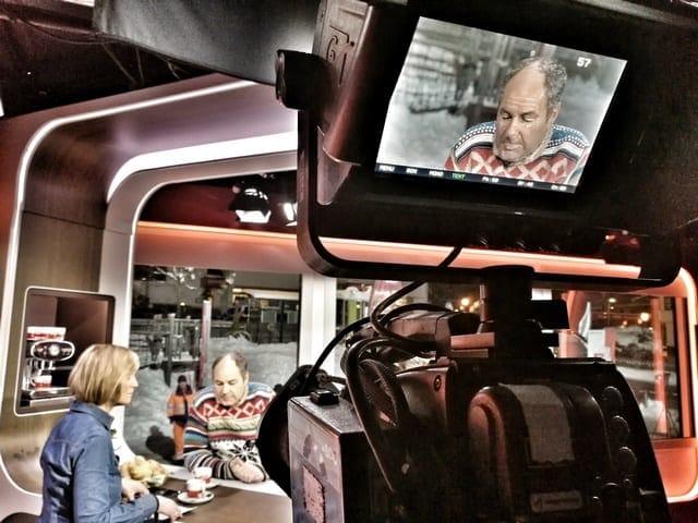 Andreas Felder Dreharbeiten 02 21 2 - ORF - Guten Morgen Österreich - Kitzbühel