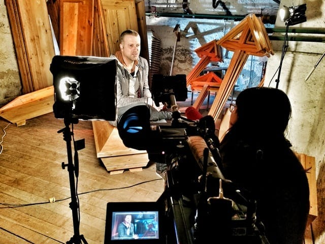 Andreas Felder Dreharbeiten 02 4 2 - ORF - Bernhard Aichner - Totenrausch