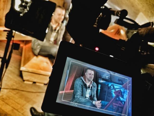 Andreas Felder Dreharbeiten 02 5 2 - ORF - Guten Morgen Österreich - Kitzbühel