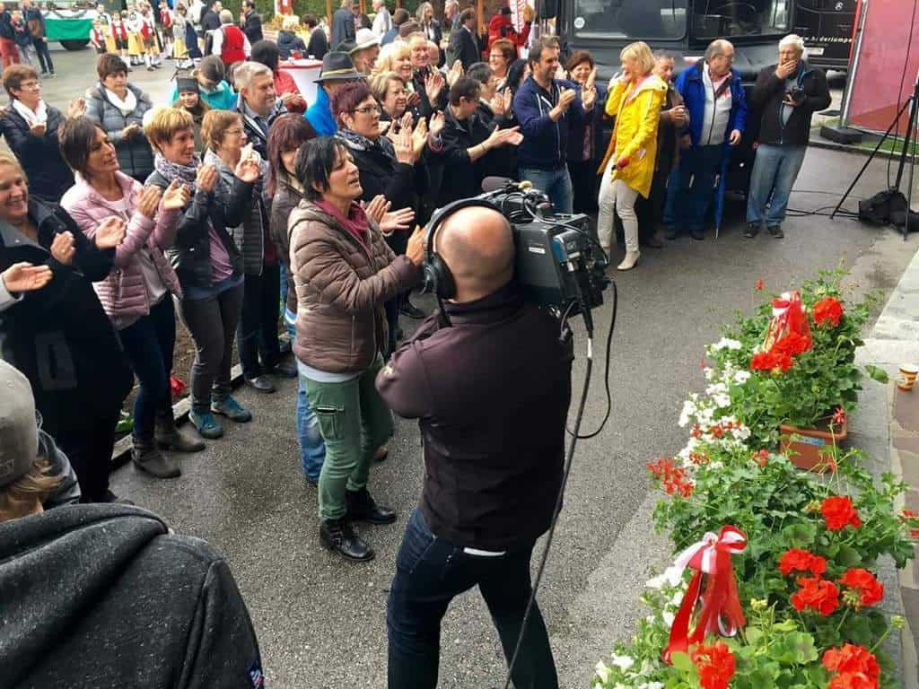 andreas felder kameramann orf guten morgen oesterreich  6x 1 - ORF Guten Morgen Österreich Live aus Tirol und Vorarlberg (Mai)