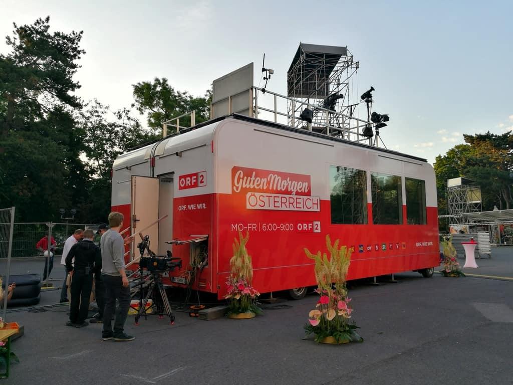 andreas felder kameramann orf guten morgen österreich wien lifeball 03 - ORF Guten Morgen Österreich - Wien