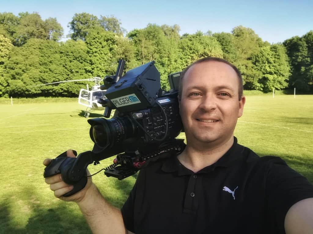 andreas felder kameramann pro7 red mario daser 15 - PRO7 red - Das Starmagazin