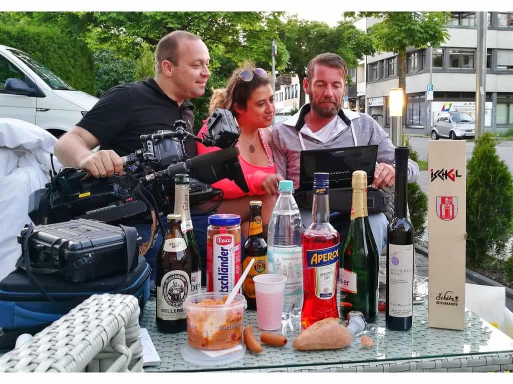 andreas felder kameramann pro7 red mario daser 38 - PRO7 red - Das Starmagazin
