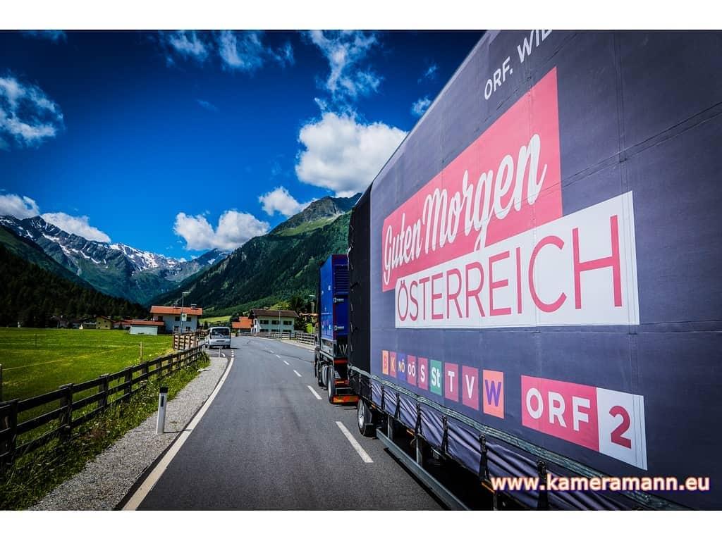 andreas felder kameramann ORF Guten Morgen Österreich 37 Andreas Felder www.kameramann.eu  - ORF Guten Morgen Österreich - Gschnitz