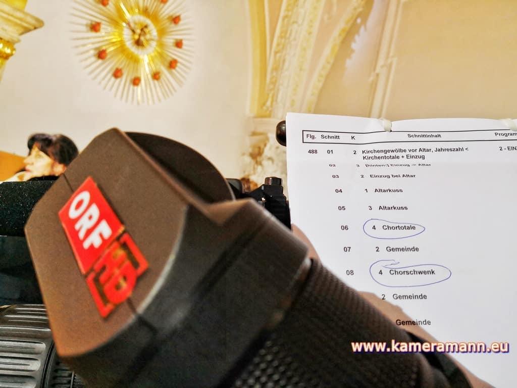 andreas felder kameramann ORF Katholischer Gottesdienst 010218 - ORF/ZDF Katholischer Gottesdienst Live