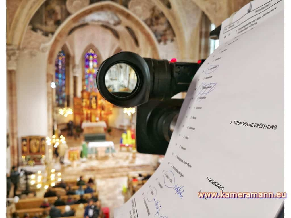 andreas felder kameramann ORF Katholischer Gottesdienst 020218 - ORF/ZDF Katholischer Gottesdienst Live