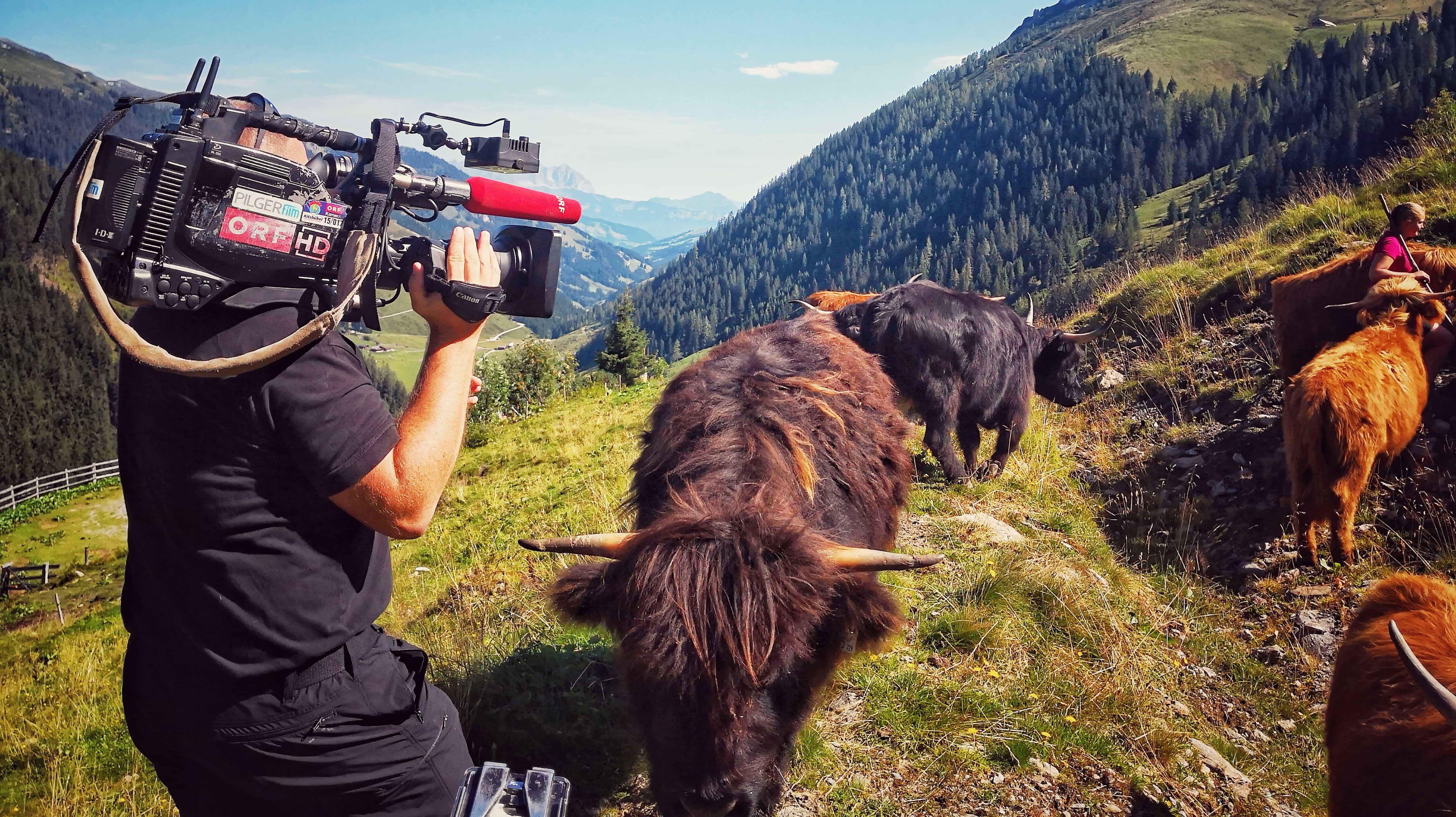 Drehbilder August – ORF, Sky Fussball Live, ServusTv