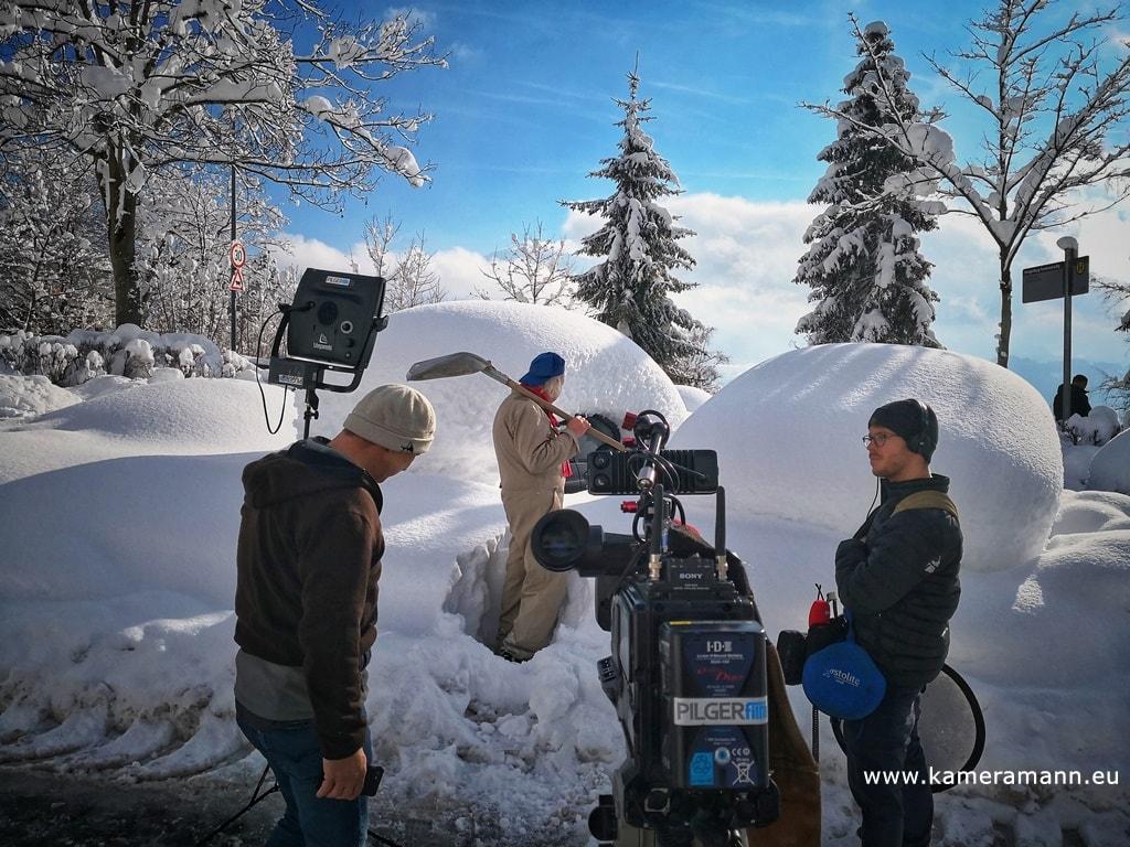andreas felder kameramann ORF WDR Schneechaos Tirol Live 02 11.01.2019 11 49 19 - Schneechaos in Tirol