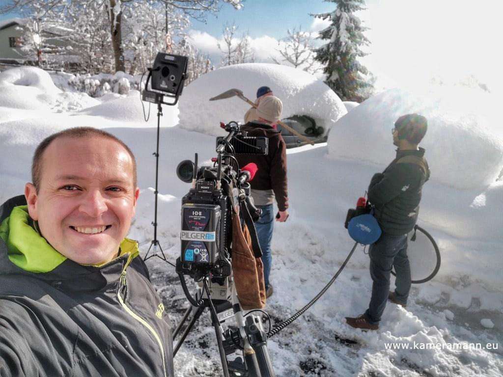 andreas felder kameramann ORF WDR Schneechaos Tirol Live 03 11.01.2019 11 49 25 - Schneechaos in Tirol
