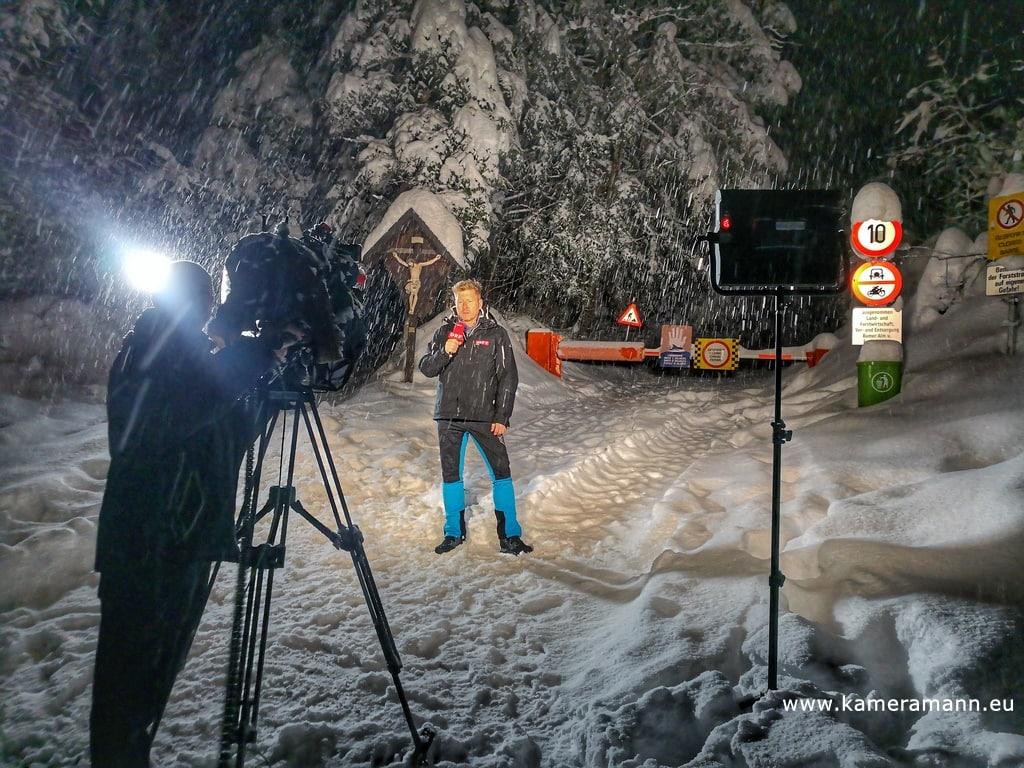 Schneechaos in Tirol