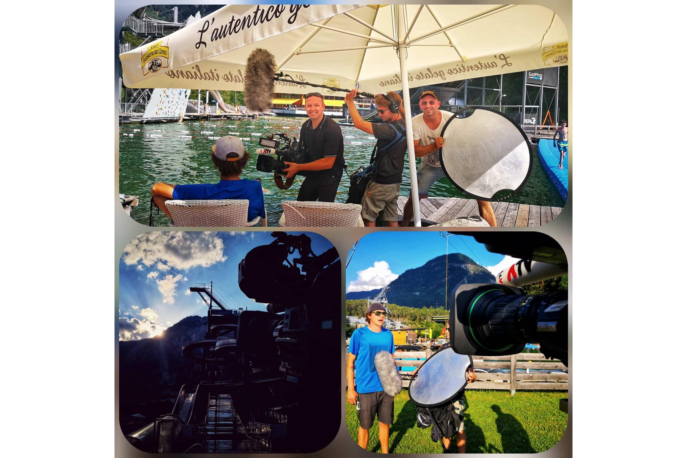 andreas felder kameramann dreharbeiten 10 NA - ATV - Die Bademeister