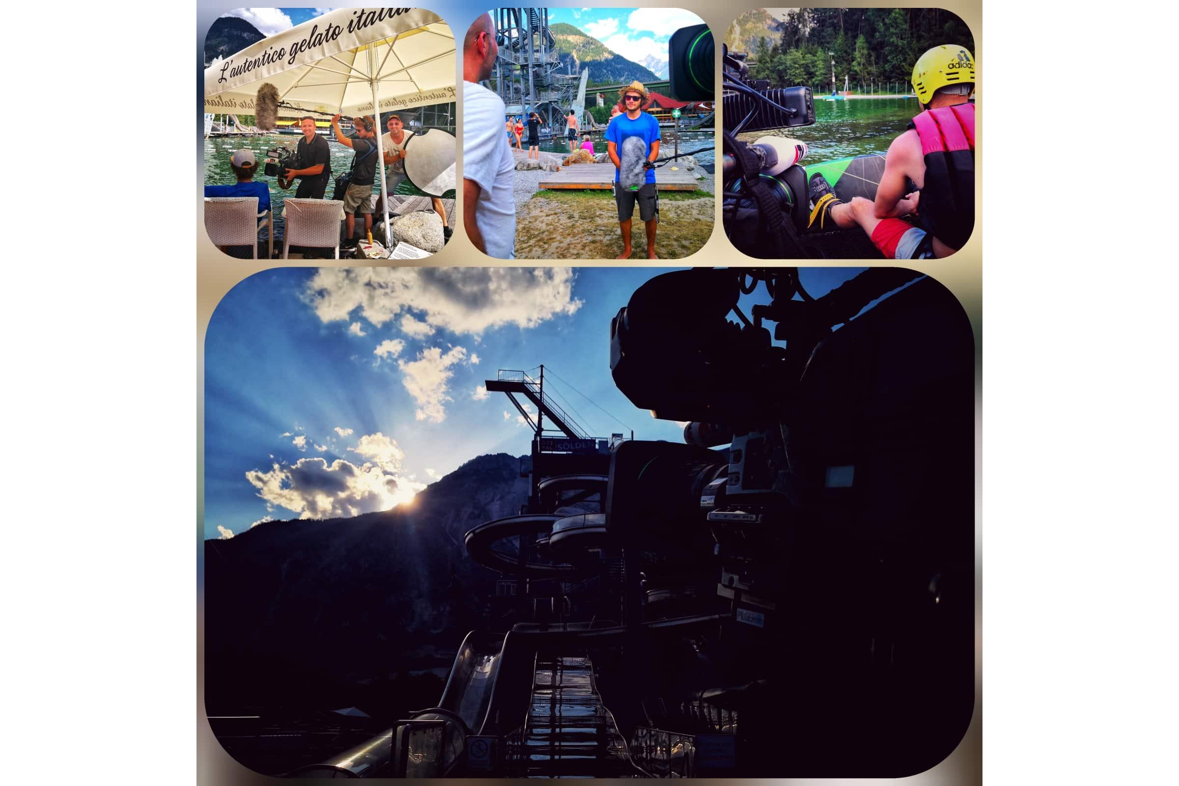 andreas felder kameramann dreharbeiten 11 NA - ATV - Die Bademeister