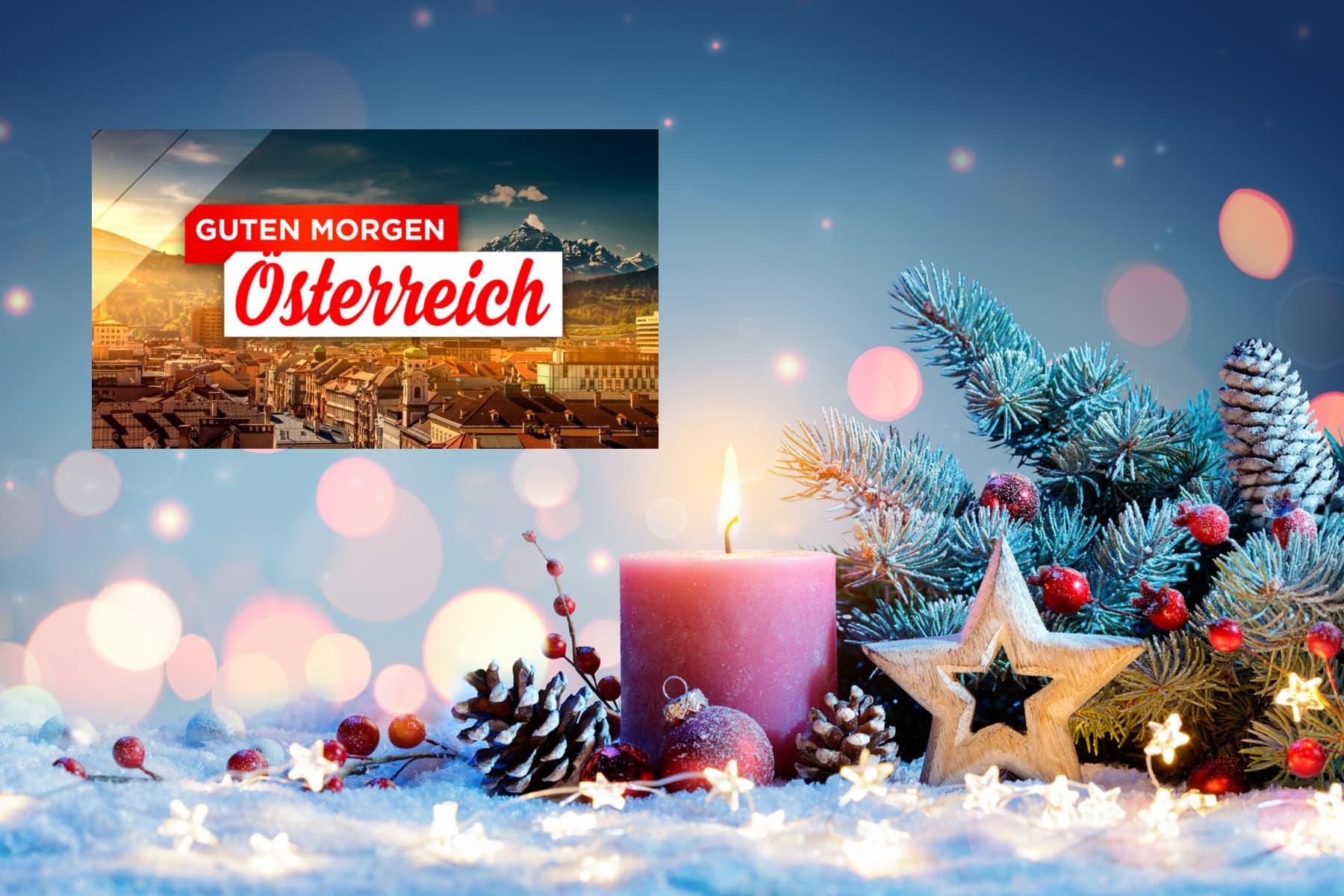 ORF Guten Morgen Österreich Weihnachtslied